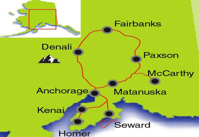Great Alaska - Reiseverlauf