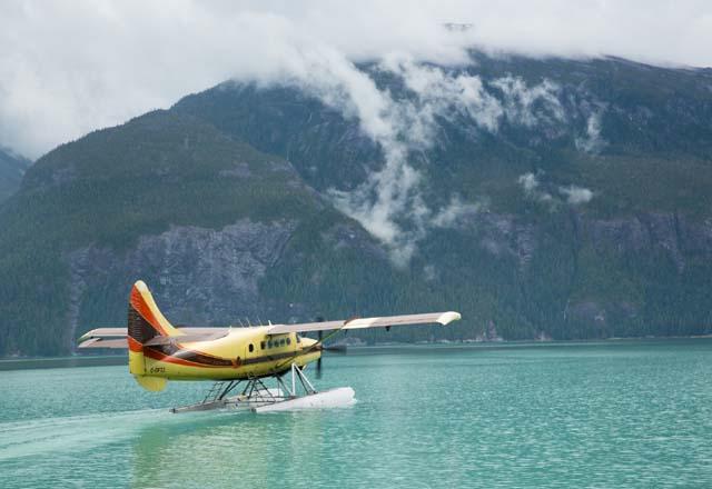 Erleben Sie Alaska von oben